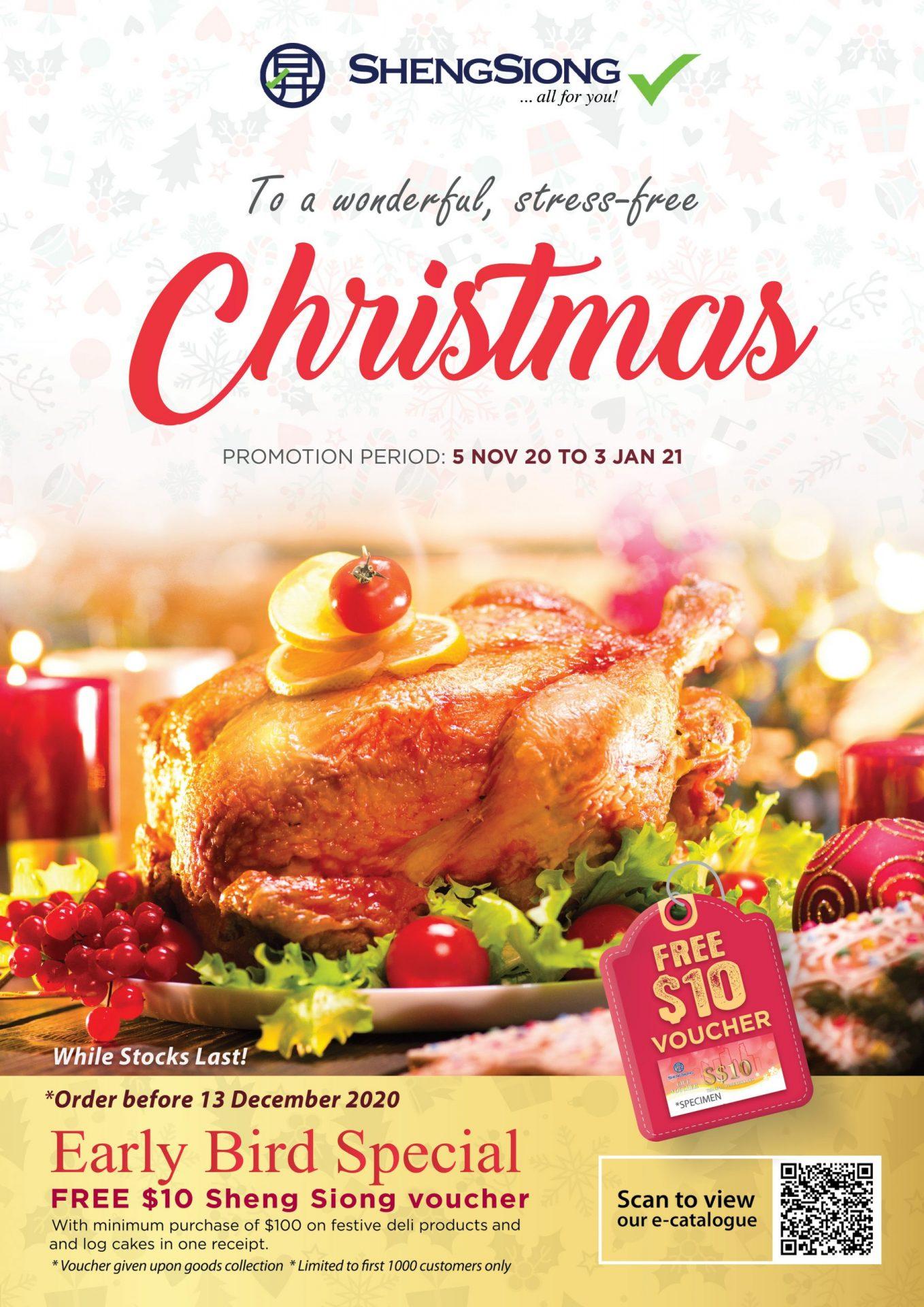 Christmas Promotion 05 Nov 20 - 03 Jan 21