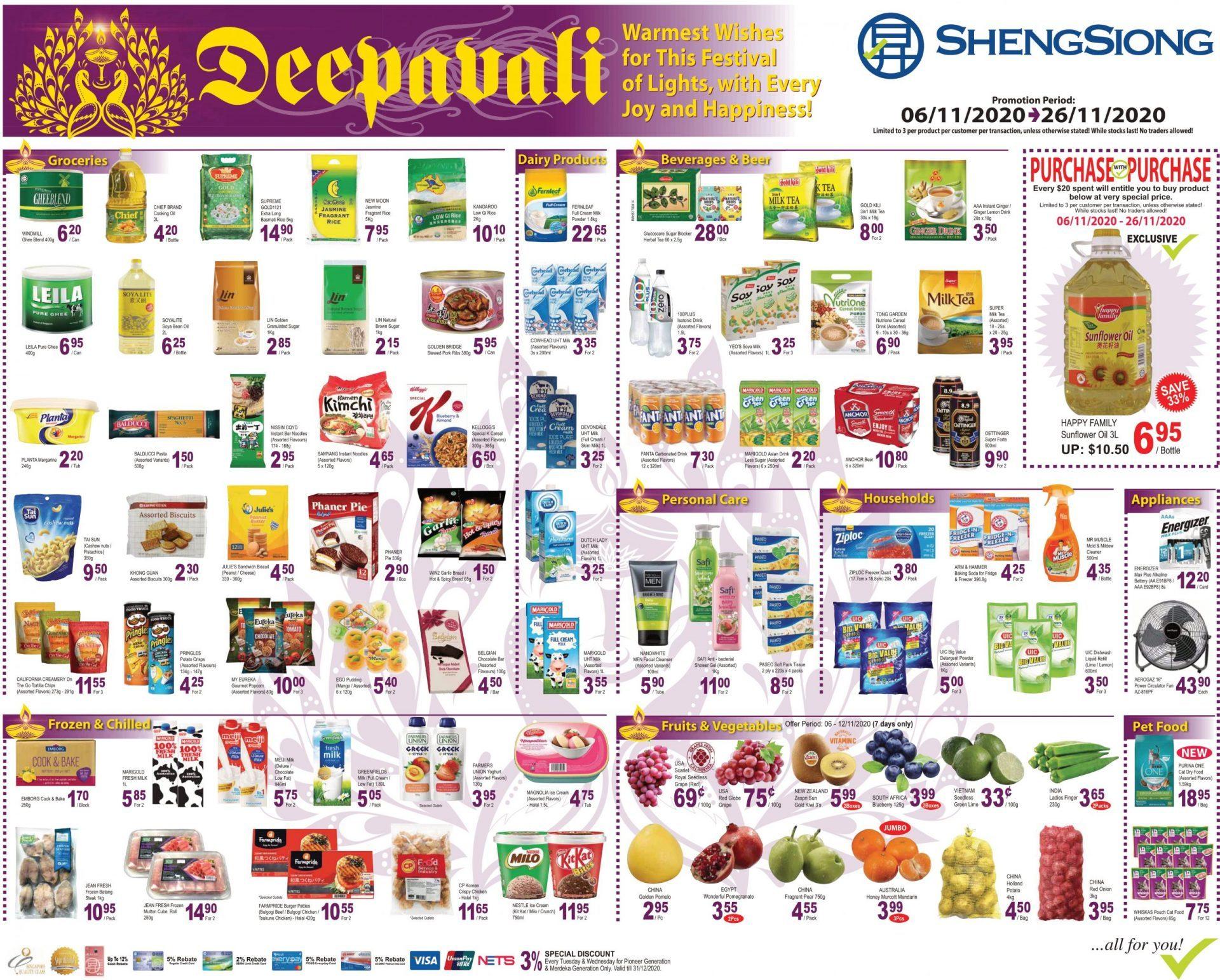 Deepavali Promotion 06 Nov - 26 Nov