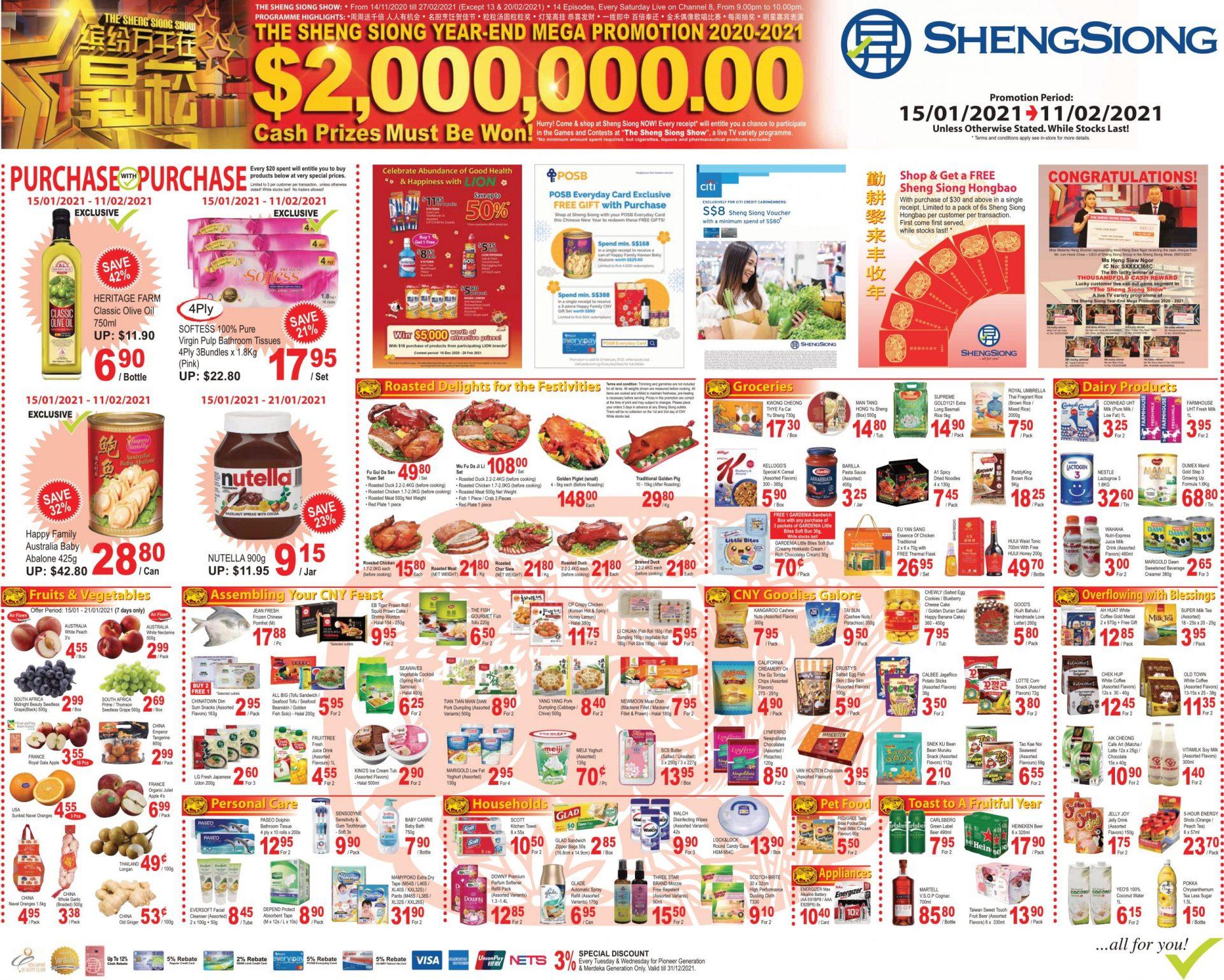 Mega Promotion 15 Jan 2021 – 11 Feb 2021